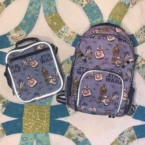 Star Wars Droid Small Backpack & Lunch Box Set